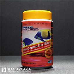 براین شریمپ پلاس پولکی (brine shrimp plus flakes)