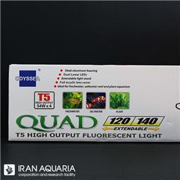 فلیپ کوواد تی 5، 4 لامپی (T5 ،4 lamps-flip quad)